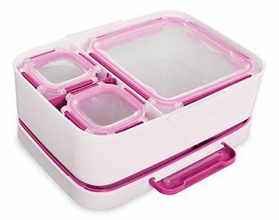 Rubbermaid Entree Lunch Container Case, Small, Bee