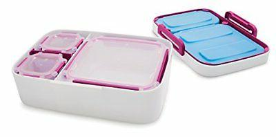 Rubbermaid Entree Lunch Container with Case,