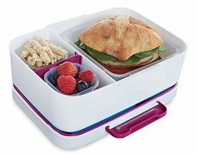 lunchblox leak proof entree lunch container kit