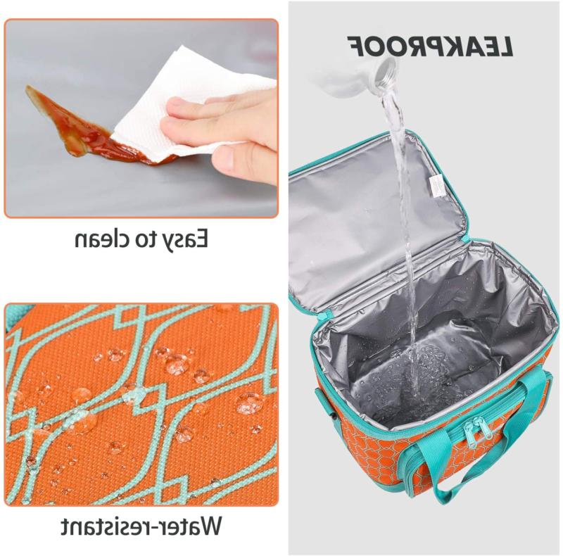 MIER Can Insulated Lunch Women, Leakproof Free Ship