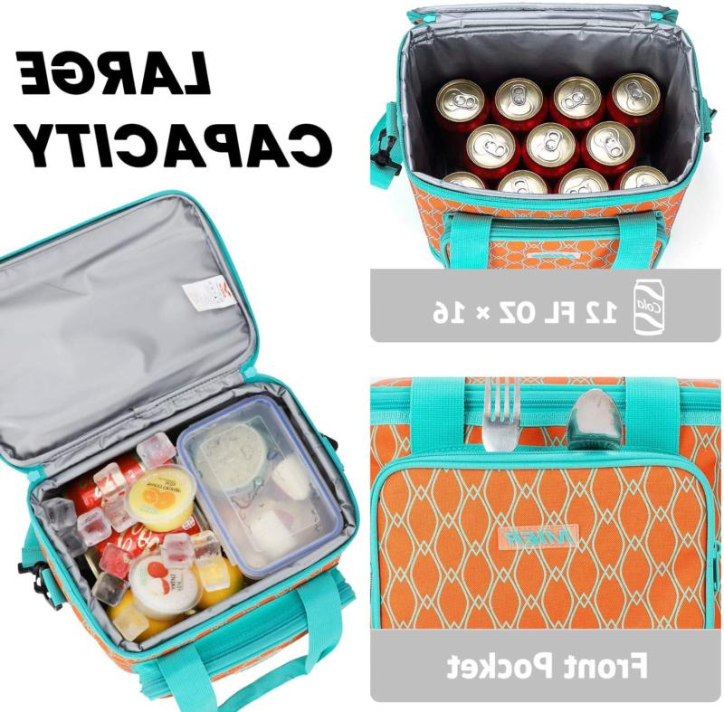 MIER Can Insulated Bag Women, Free