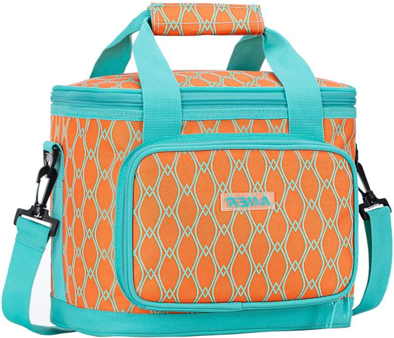 mier 16 large insulated lunch bag