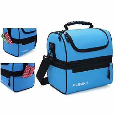 MIER Insulated Lunch Cooler Bag Men,