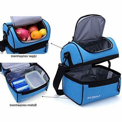 MIER Lunch Box Insulated Lunch Bag Large Cooler Men,
