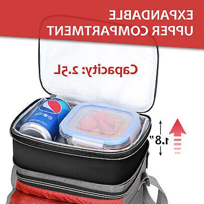 Lunch Bag Insulated Lunch Tote Bag for Men Women Kids