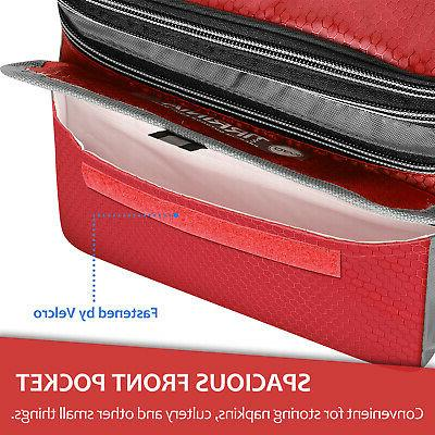 Lunch Insulated Tote Leakproof Cooler Bag for