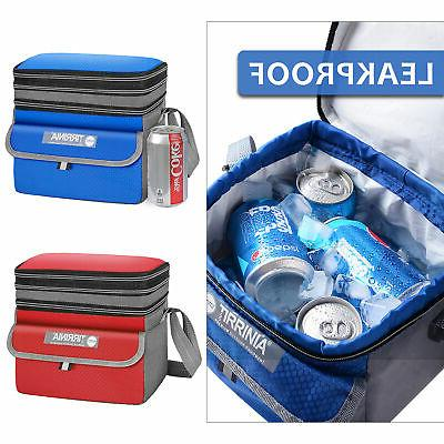 minimalist insulated cooler bag tote leakproof expandable
