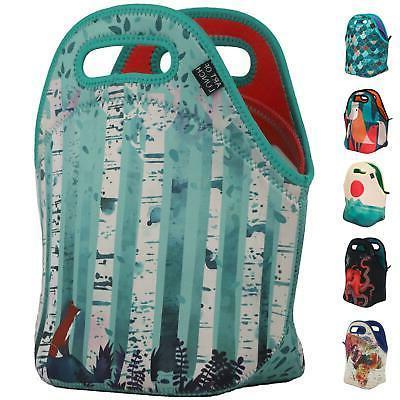 neoprene lunch bag art large gourmet insulating tote partner