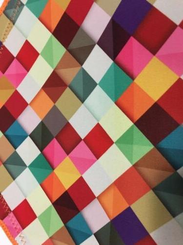 Neoprene ART Geometric Pattern NEW