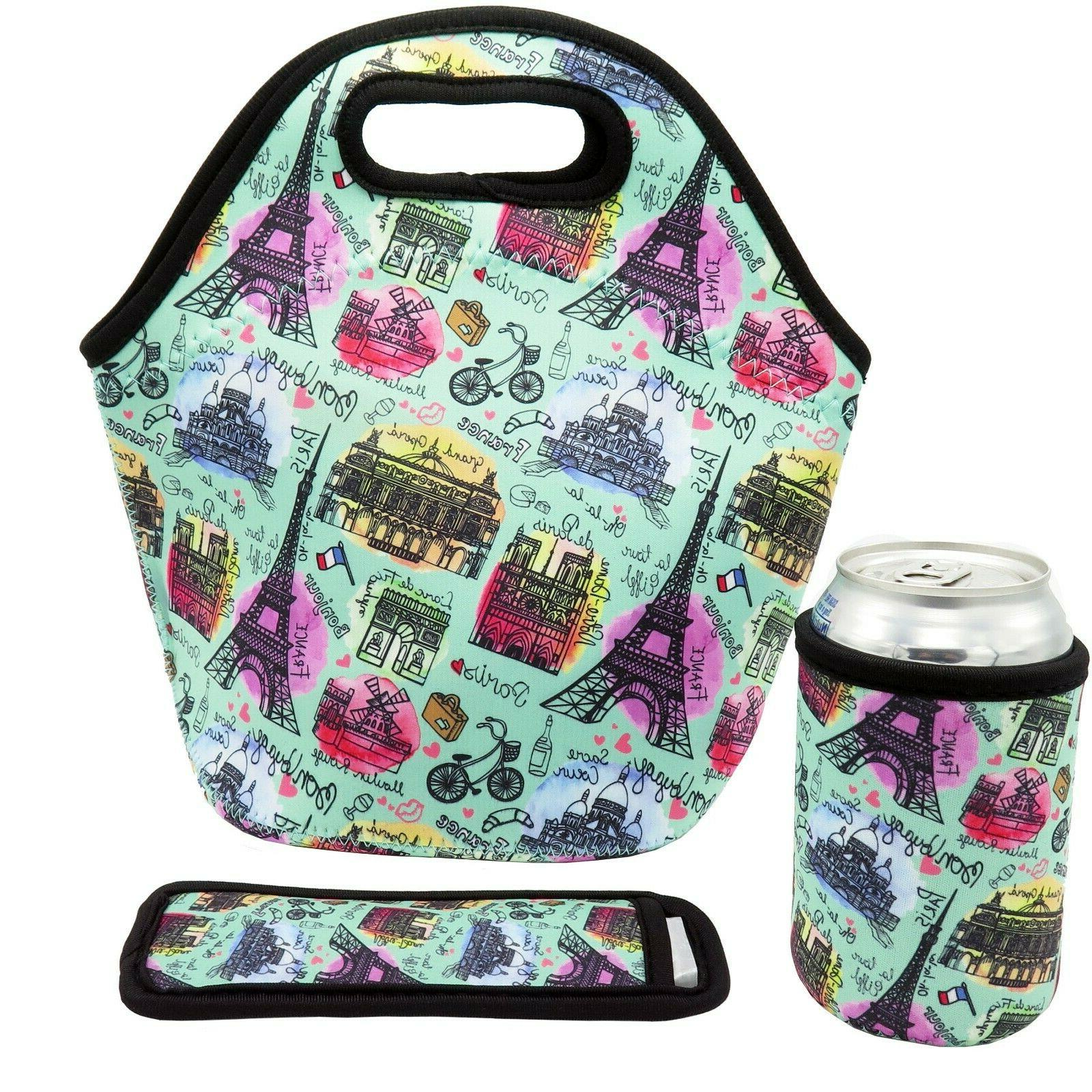 neoprene lunch bag insulated lunch tote bags