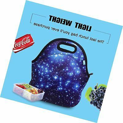 Neoprene Tote, OFEILY Insulated Lunch Bag animal printed Star