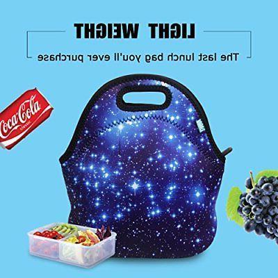 Neoprene lunch bag Blue
