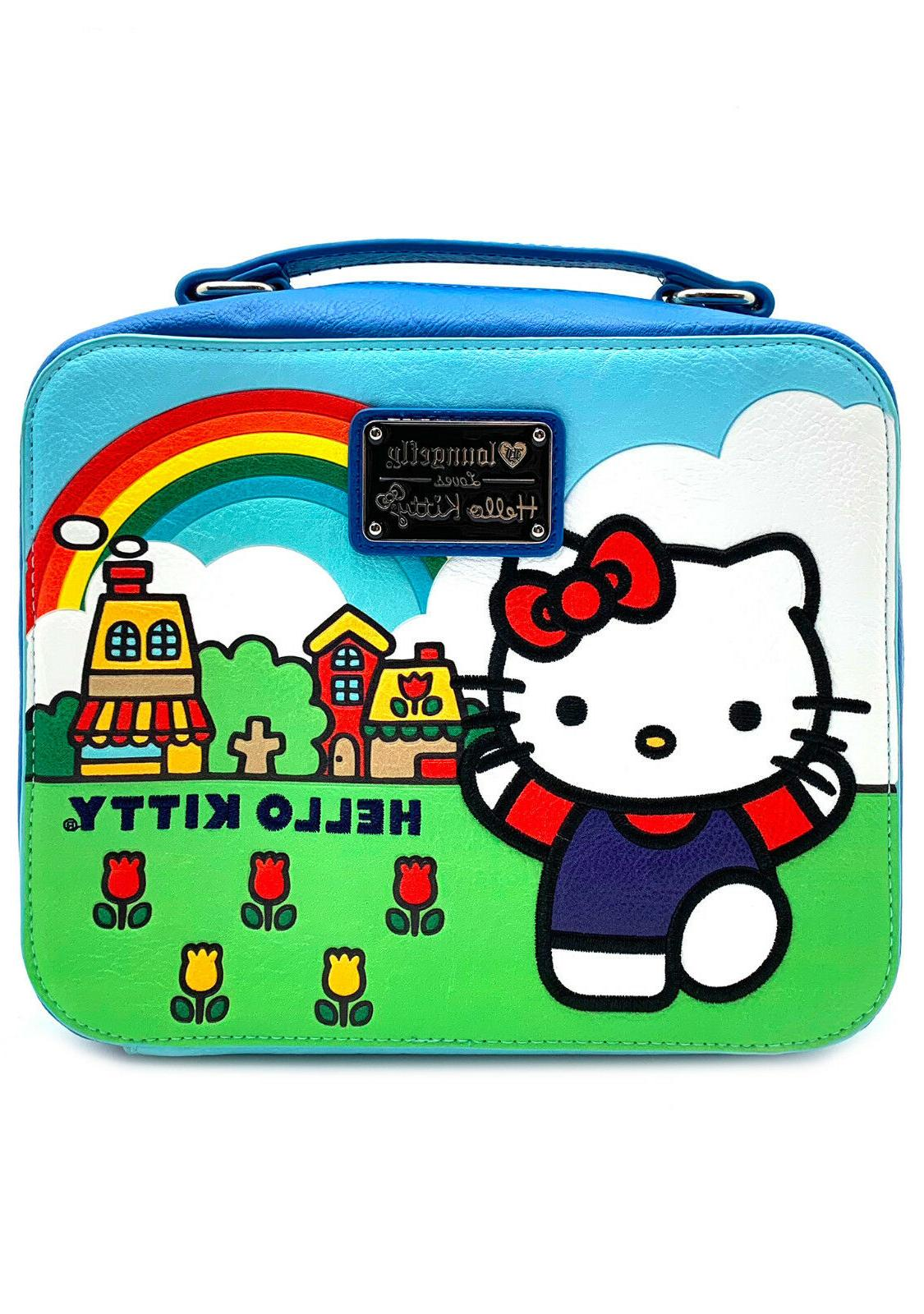 Lunch Bag Hello Kitty Scenery Shaped New santb1589