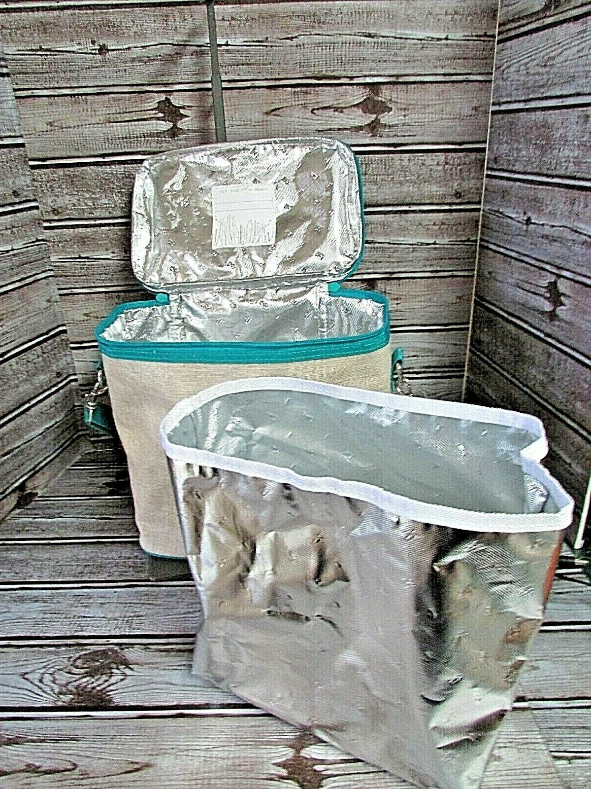 NWOT SO YOUNG Lunch Bag Seahorse Design