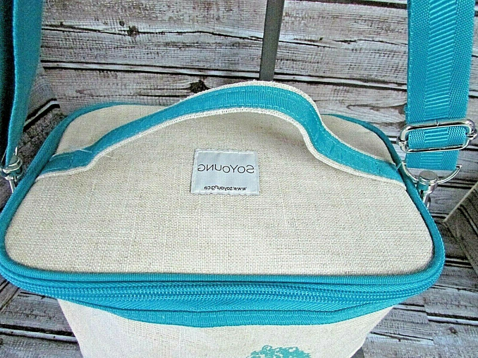 """NWOT Lunch """"Poche"""" Bag Seahorse"""