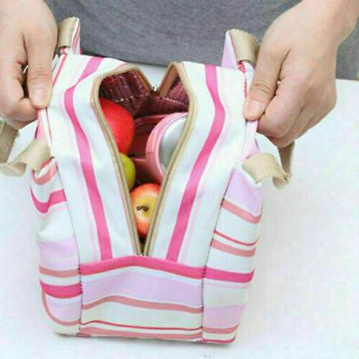Portable Thermal Lunch Box Carry Picnic Storage