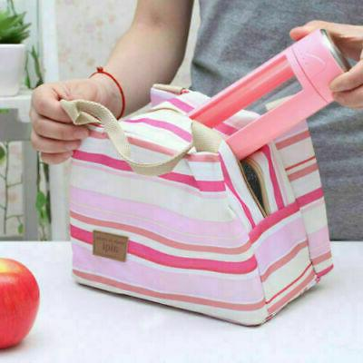 Portable Insulated Lunch Box Picnic Storage