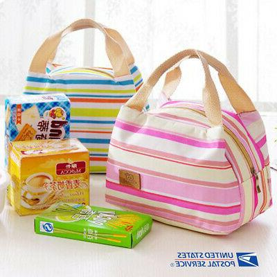 Portable Insulated Lunch Picnic Case Storage Case
