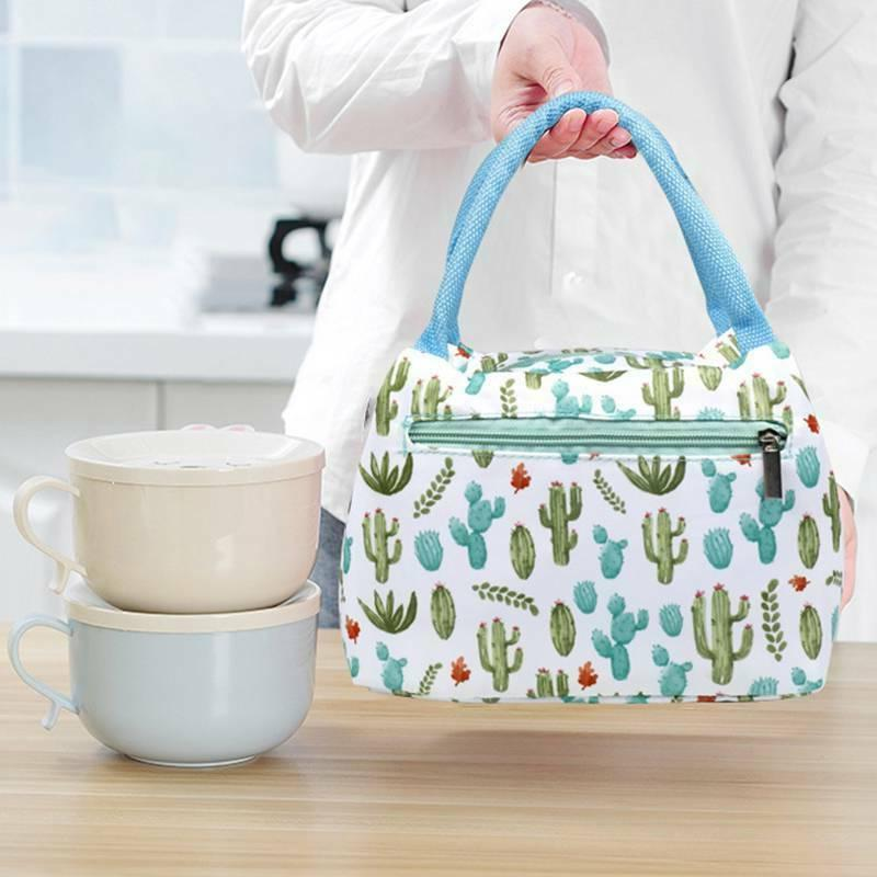Portable Lunch Thermal Cooler Waterproof Insulated Tote