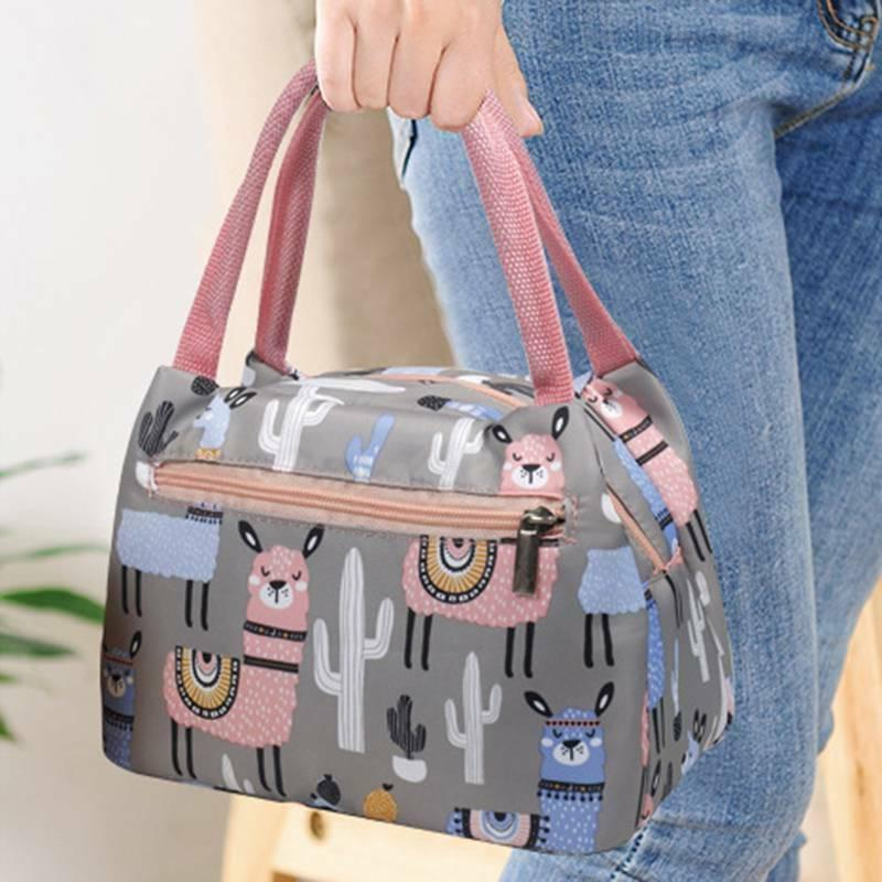 Portable Lunch Bag Thermal Cooler Tote Bags