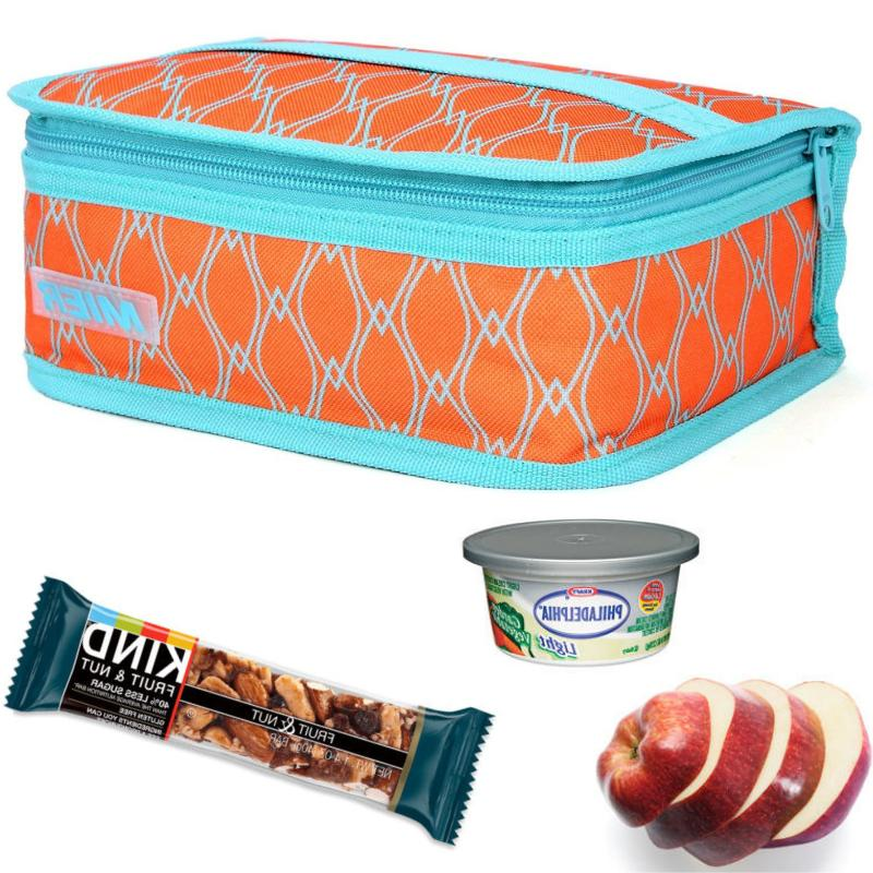 portable mini cooler bag lunch box school