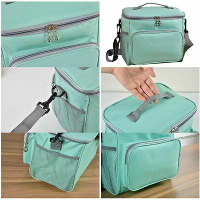 Portable Lunch Bag Travel Box for Women Men