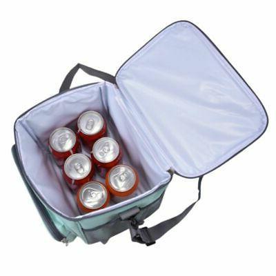 Portable Insulated Bag Lunch Box Women Men