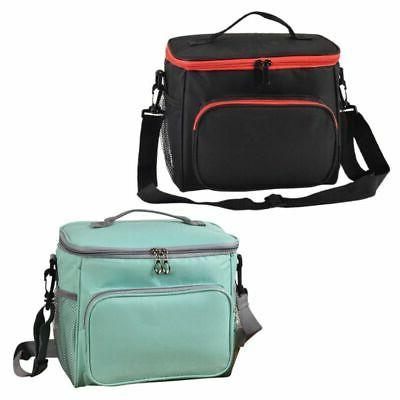 Thermal Insulated Lunch Bag Portable Travel Picnic Lunch Box