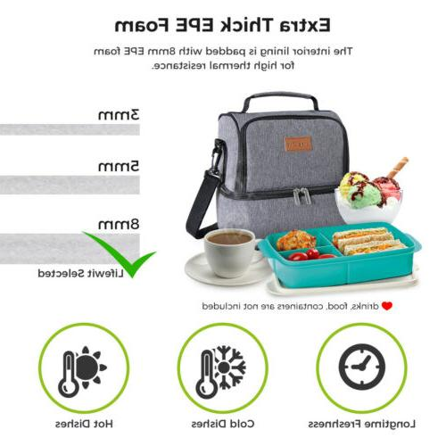 Portable Bag Picnic Lunch Box Tote Men