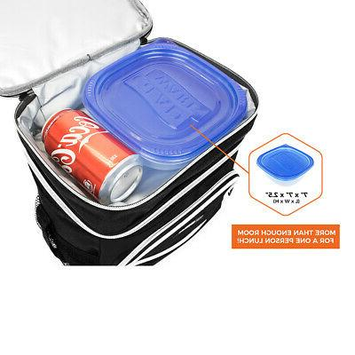 Premium Lunch Bag With Strap by OPUX