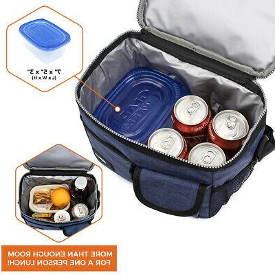 Insulated Lunch Bag Thermal Bento for Women and Kids