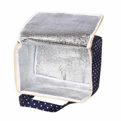 Printing Lunch Pouch Picnic Box Thermal Cooler For Girls