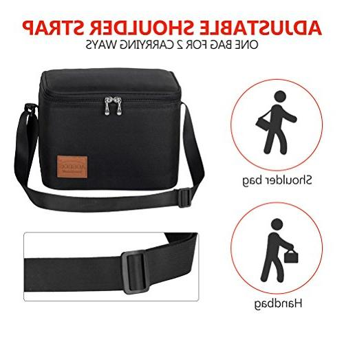 Aosbos Bag Tote Bag Men Black