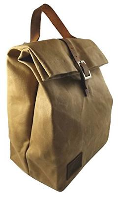 Reusable Thermal Insulated Lunch Bag with handle - Waxed Can