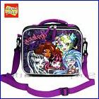 Monster High Skull Girls Insulated Lunch Bag Snack Bag for S