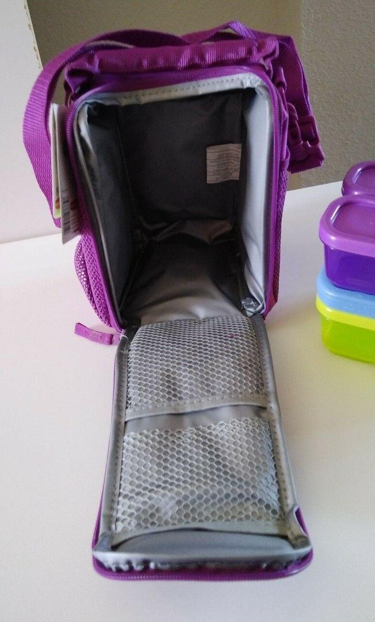 Rubbermaid Lunch Blox Set Blue Pack Bright Purple NEW!