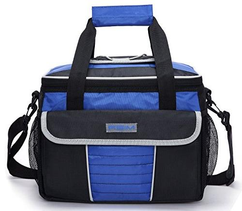 00034ecffb00a MIER Large Soft Cooler Bag Insulated Lunch Box