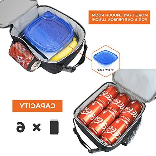 OPUX Premium Mini School Lunch For Boys, Girls, | Compact Lunch for