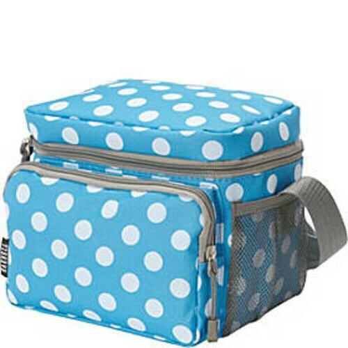 travel cooler insulated lunch bag zippered pocket