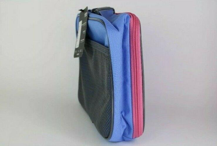 Adidas Unisex Lunch Bag, Real Pink/Blue Sundown Print