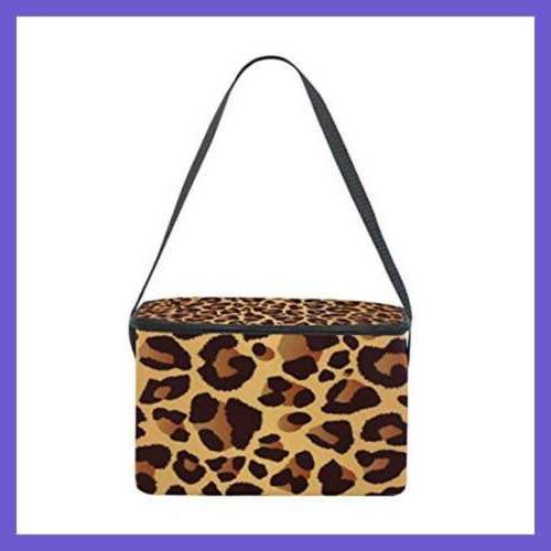 Use4 Leopard Print Bright Animal Bag Color2