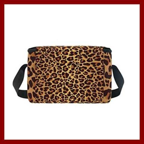 Use4 Leopard Animal Insulated Bag Color2