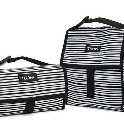 Wobbly Stripes Freezable Lunch Bag Home Storage