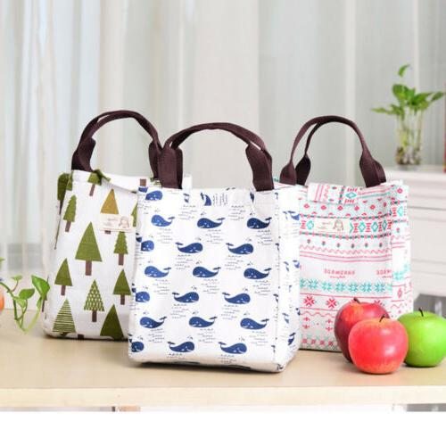 Insulated Tote Bag Lunch