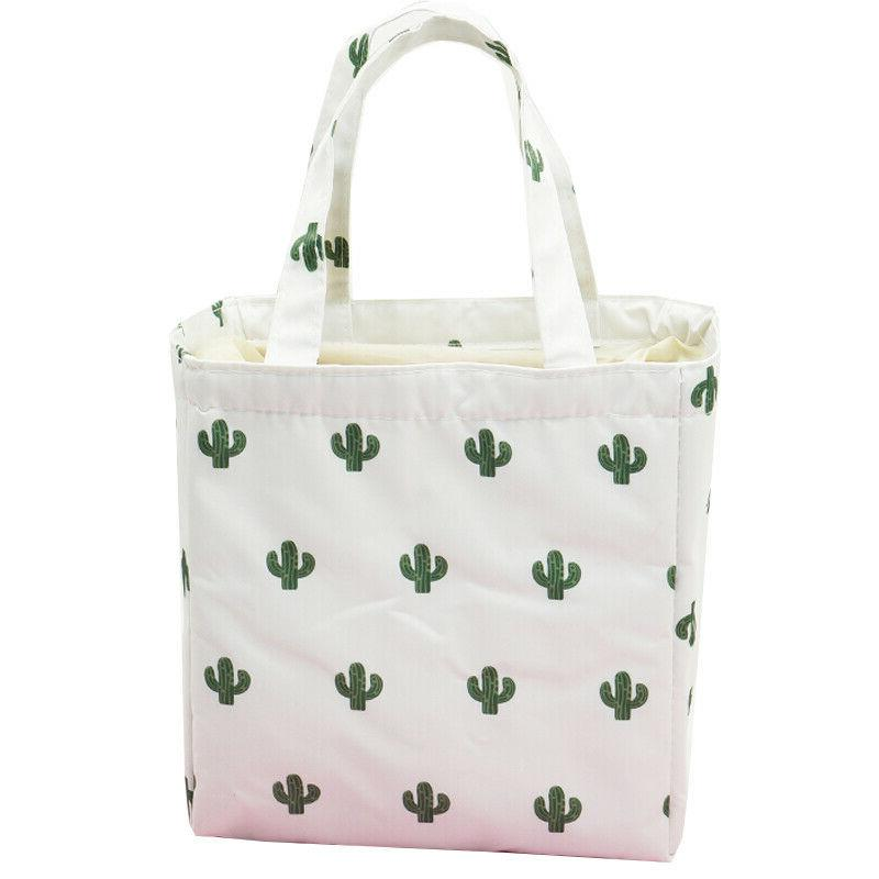 Women's Insulated Food Box Bags