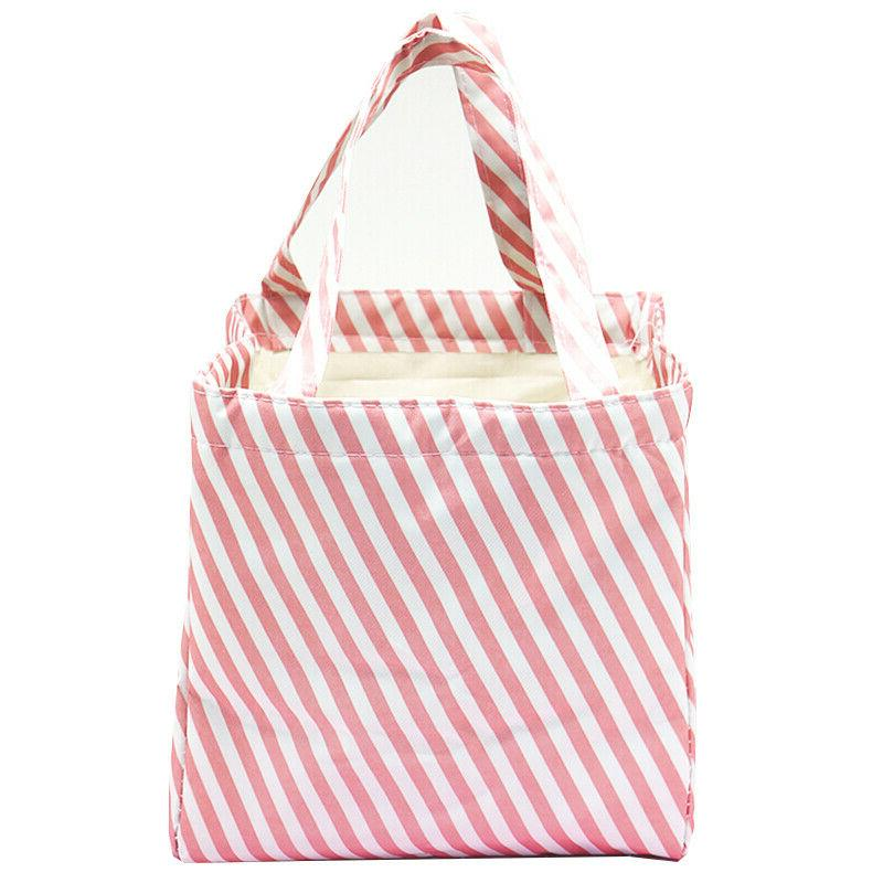 Women's Lunch Travel Tote Carry Food Box Picnic Bags