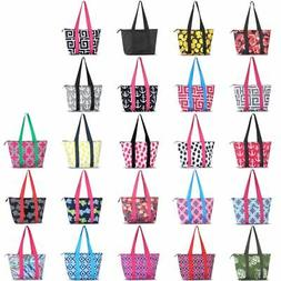Large Fashion Insulated Lunch Tote Double handles Bag