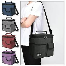 Large Insulated Lunch Bag for Women Men Leakproof Thermal Co