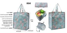 Large Insulated Lunch Bag for Women Men, Cute Meal Prep Tote