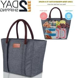 Large Lunch Bag For Women Work Leak Proof Containers Picnic